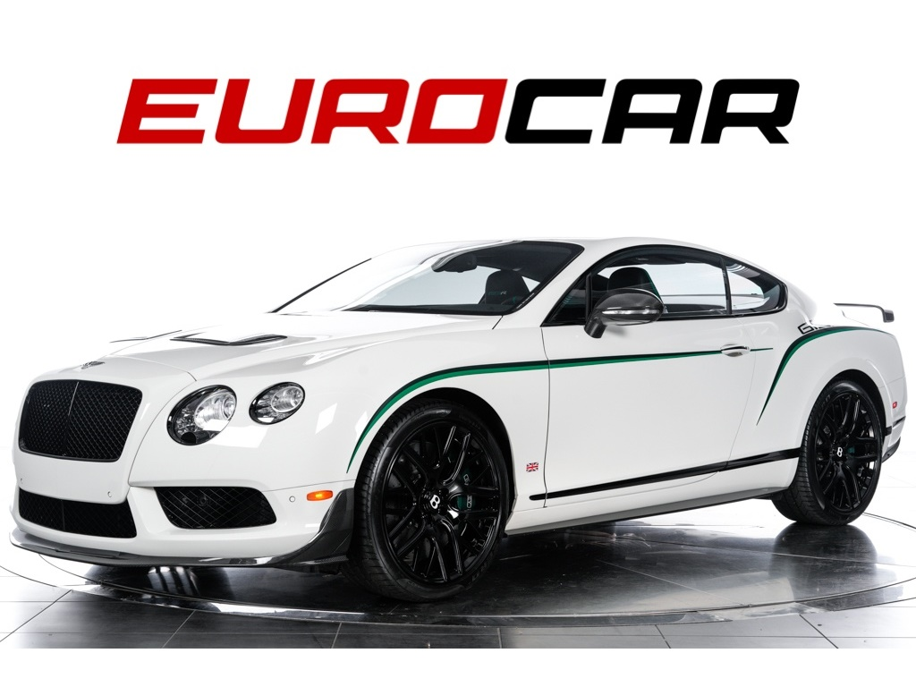 2015 Bentley Continental GT GT3-R (#22 of 99) ($341,025.00 MSRP) Coupe