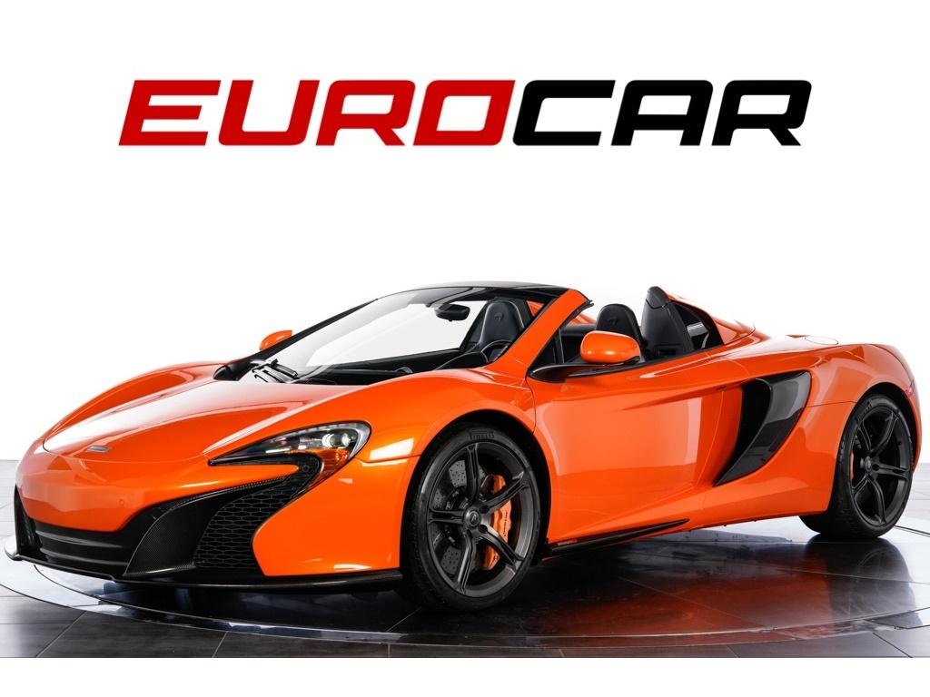 2015 McLaren 650S Spider ($340,095.00 MSRP) Convertible