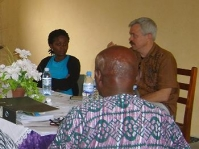 Meeting in Uganda