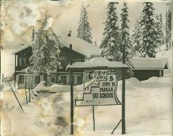 Big White's first day lodge