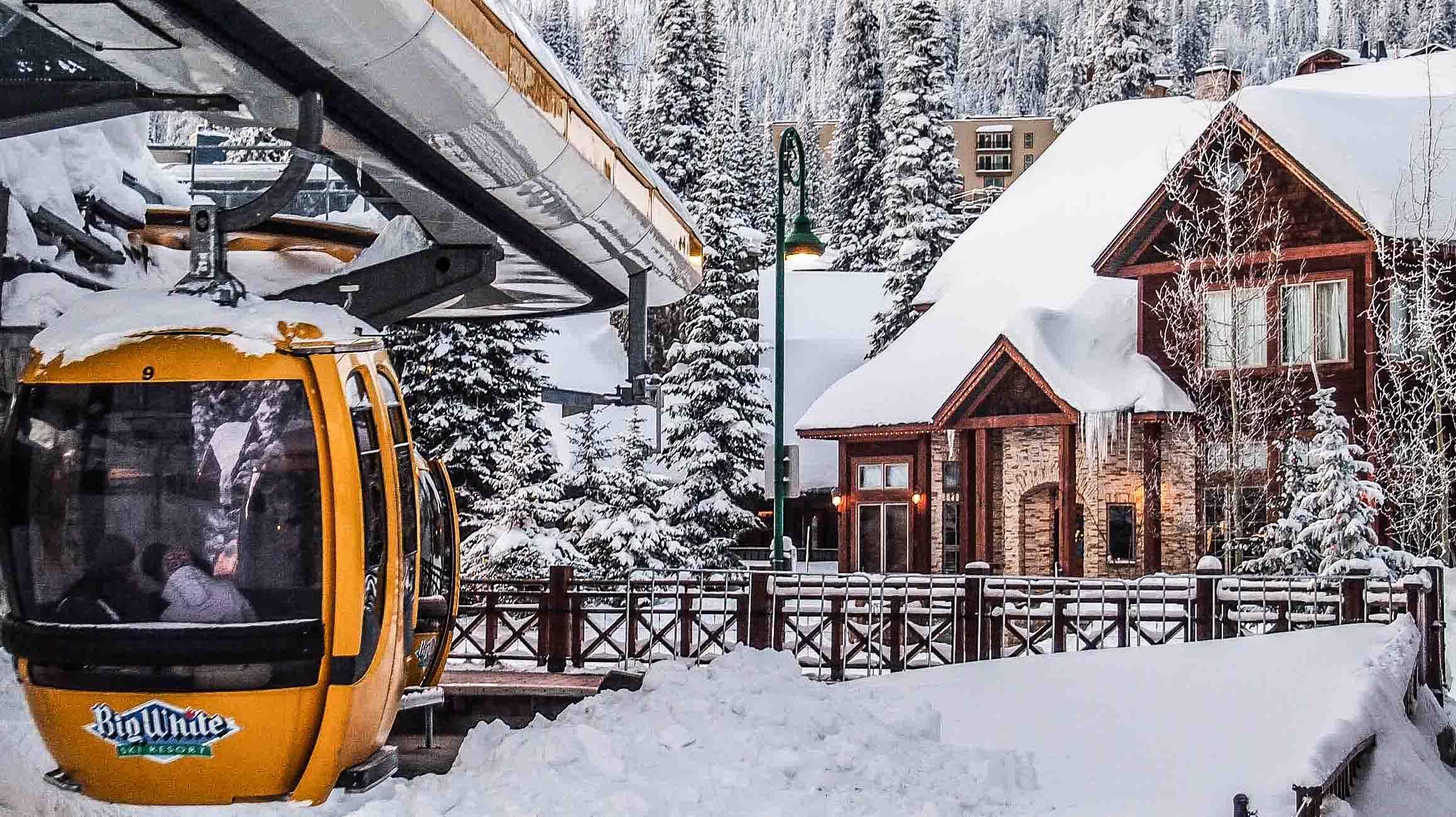 Snowy days at  Big White Ski Resort