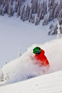Powder day on The Cliff - Feb 2013