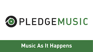 PLEDGE MUSIC PAGE