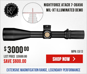 Nightforce ATACR 7-35x56 Mil-XT Demo - Save $600