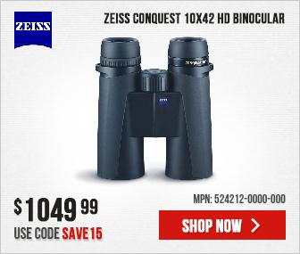 Zeiss Conquest 10x42 HD Binocular 524212