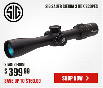 SIG Sauer SIERRA 3 BDX Riflescopes - Save Up To $160