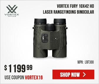 Vortex Fury 10x42 HD Laser Rangefinding Binocular LRF300
