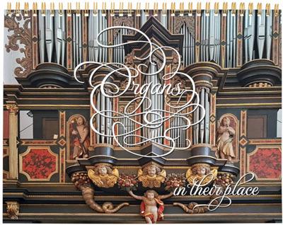 18-month pipe organ calendar