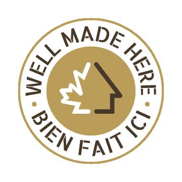 Logo Well made Here - Bien fait Ici