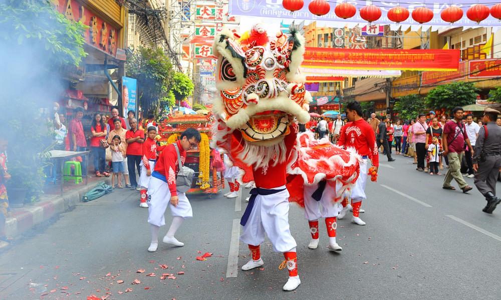 Wyjazdy z jogą - Chiński Nowy Rok w Bangkoku