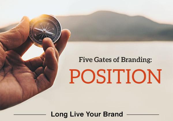 Five Gates of Branding: Position