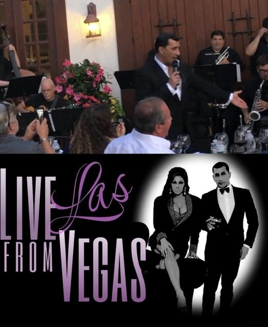 Sept 5 Live from Las Vegas/ Sept 6 Sinatra Live Band w Chris Jason and Joelle Righetti