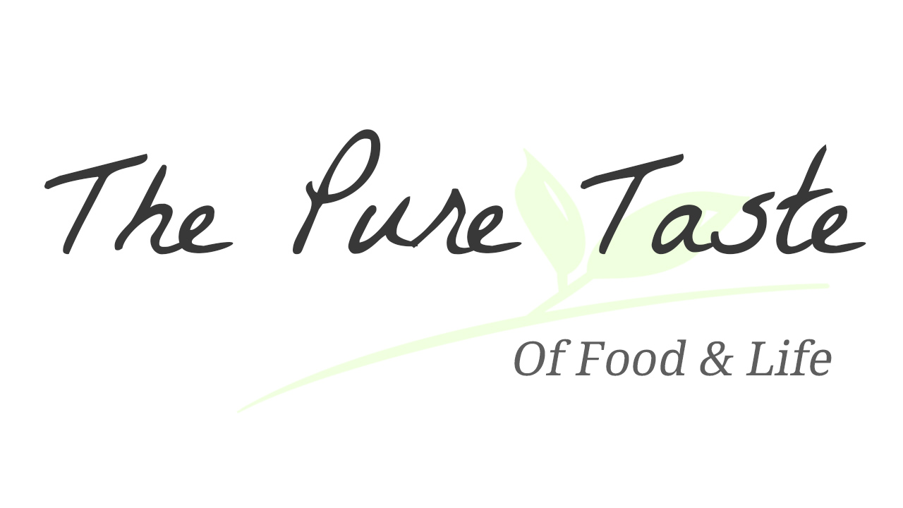 The Pure Taste. Blog about healthy but smart food and life choices