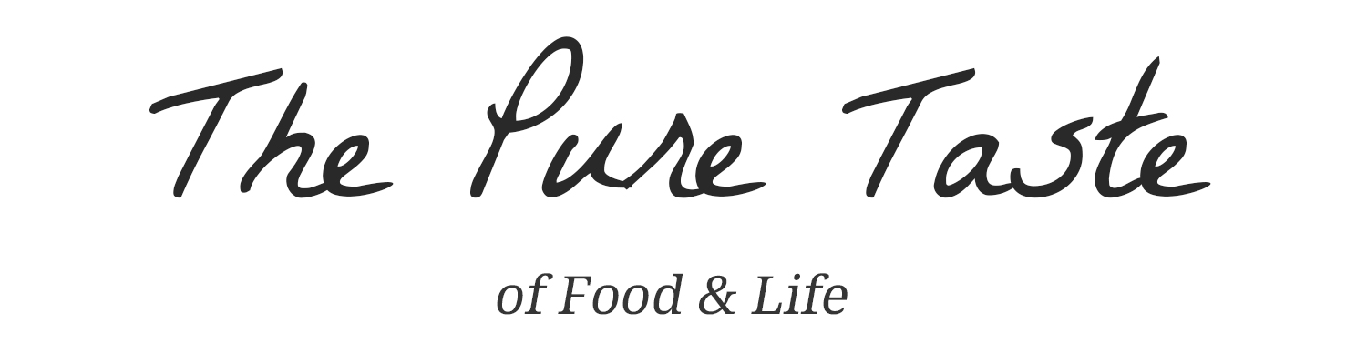 The Pure Taste is a blog about healthy food and living. Eating healthy is not about cutting all the beloved food from your life – it's about creating a balance.