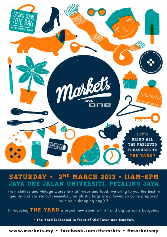 Markets @ Jaya One 9 - 2nd March 2013