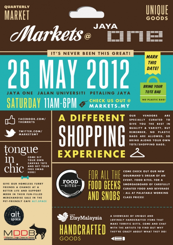 Markets @ Jaya One 6 - 26th May 2012