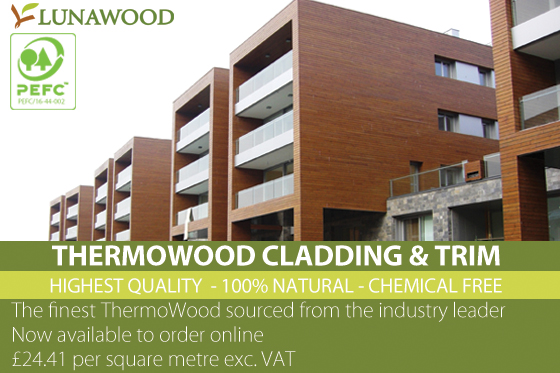 ThermoWood Cladding  & Trim