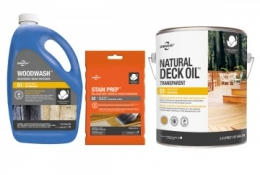 Biowash One Day Deck Care Kits