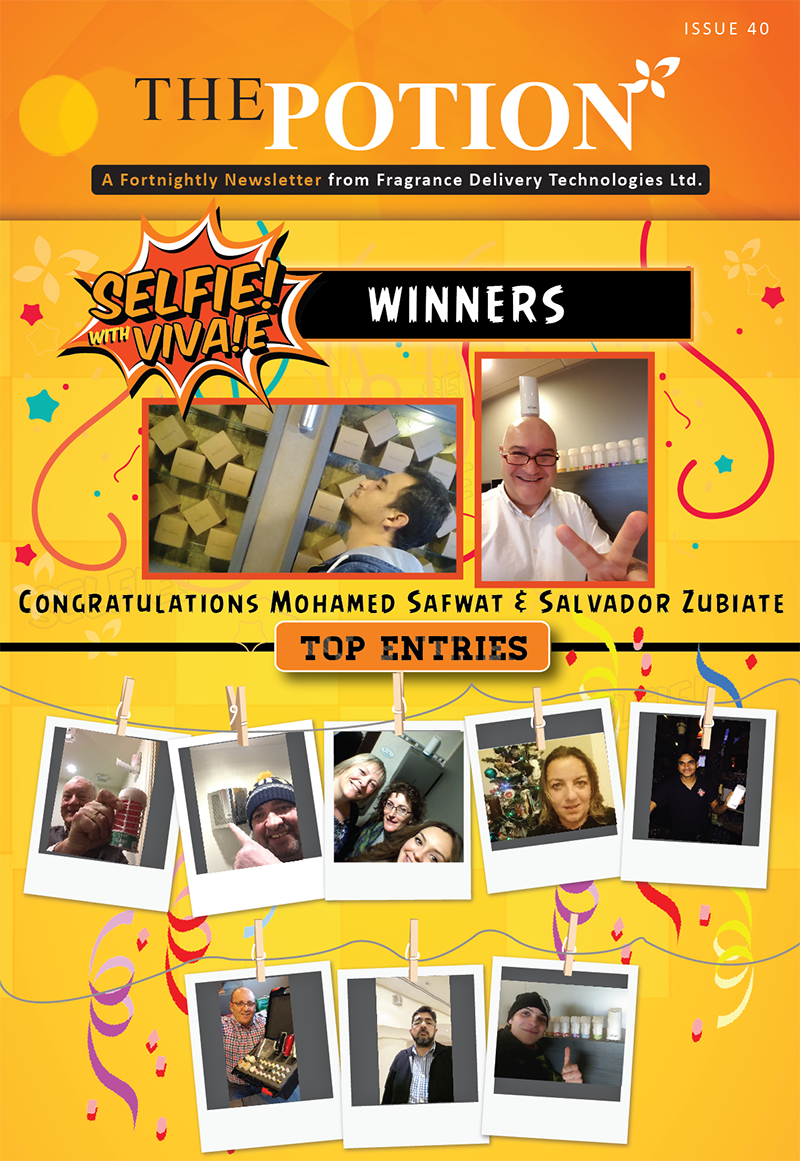 #SelfieWithVivae Contest Winners