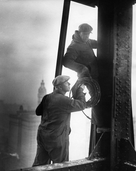 Ironworkers in NYC, 1926