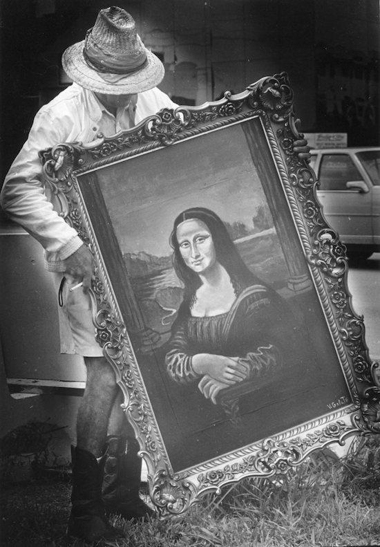 Bus Stop Mona Lisa