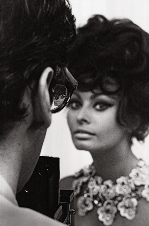 Richard Avedon and Sophia Loren, 1966