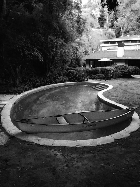 The Canoe In The Pool
