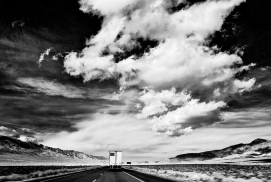 Sky, Desert, Truck