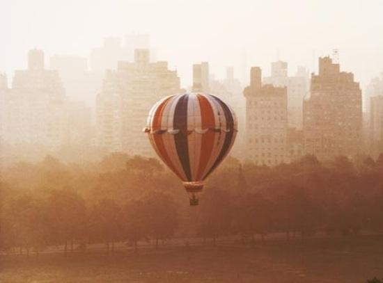 Balloon over Sheep Meadow