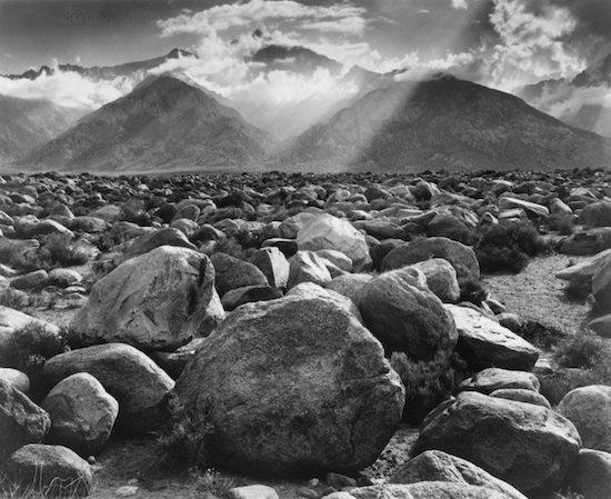Ansel Adams, Mount Williams, Manzanar