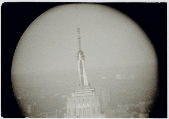 ESB by Binocular from WTC