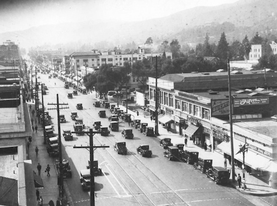 Hollywood Blvd 1926