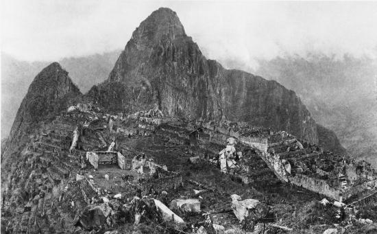 Machu Picchu, 1912