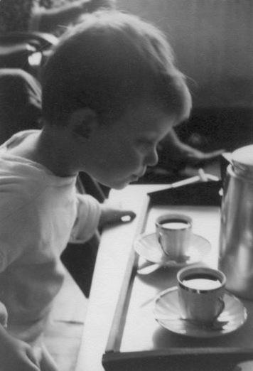 Boy and Coffee