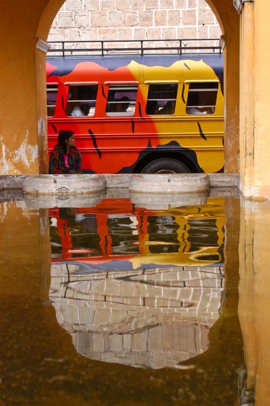 Morning Bus, Antigua