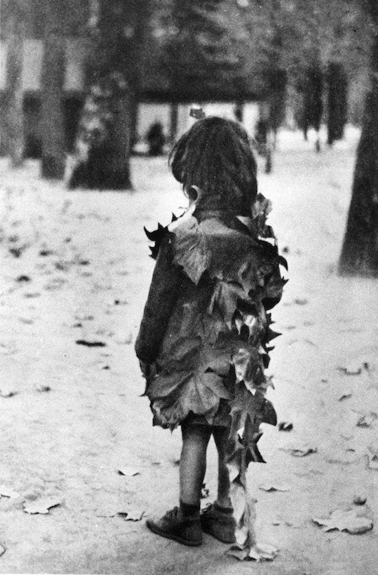 Boubat, Girl with Leaves