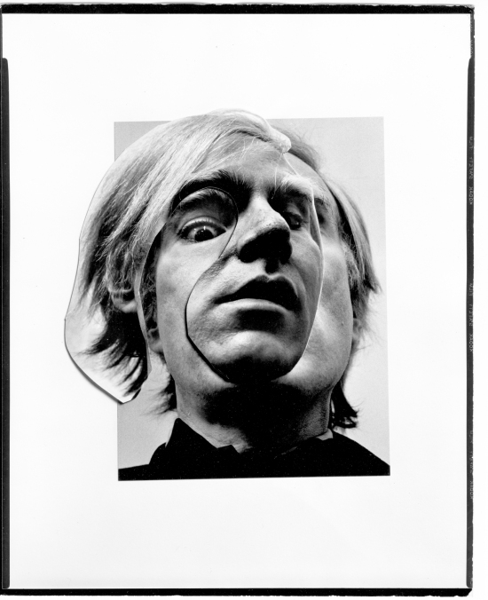And Warhol by Arnold Newman