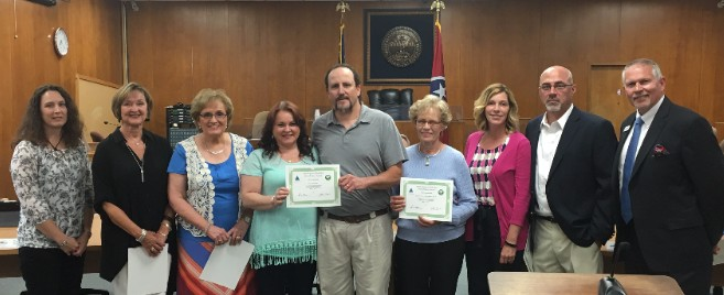 May 2016 Keep Kingsport Beautiful Awards