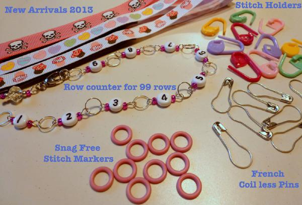 New Arrivals - Stitch Markers Atomic Knitting