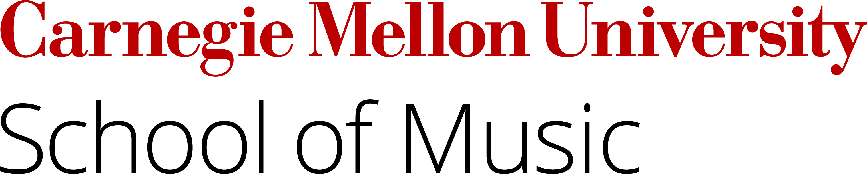 Carnegie Mellon School of Music Unit Mark