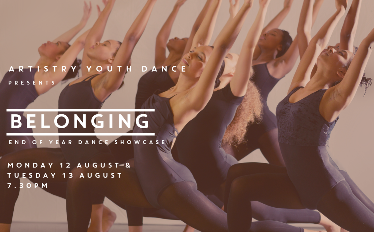 Artistry Youth Dance present 'Belonging'