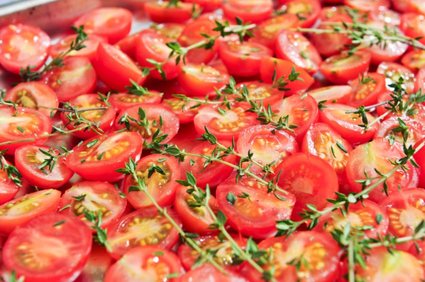 Overflod af tomater