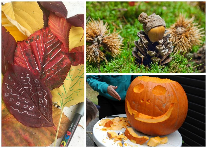Tips til en kreativ efterårsferie