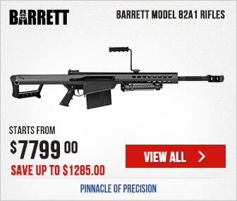 Barrett Model 82A1 Rifles