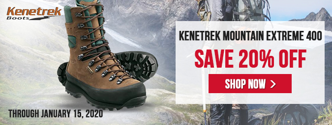 20% OFF - Kenetrek Mountain Extreme 400 KE-420-400