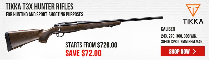 Tikka T3x Forest Rifles