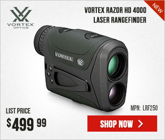 NEW Vortex Razor HD 4000 Laser Rangefinder