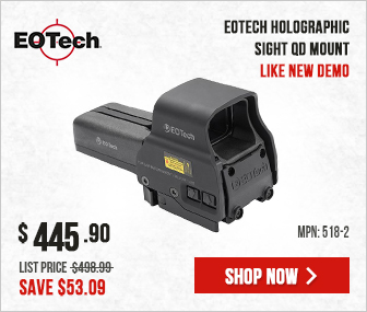 EOTech Holographic Sight QD Mount Like New EOT-518-2__LN