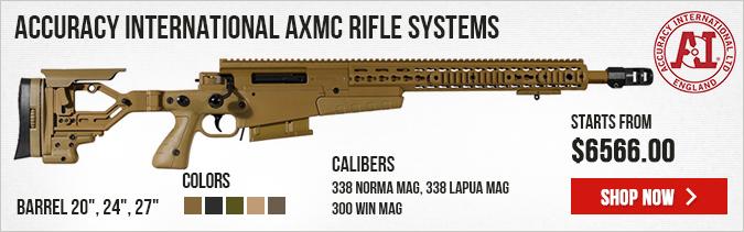 Accuracy International AXMC (Multi Caliber) Rifle Systems