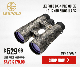 Leupold BX-4 Pro Guide HD 12x50mm Roof Sitka Open Country